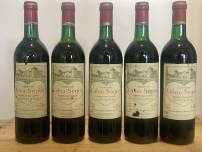 Lot 21 - 5 bottles Chateau Calon Segur Grand Cru Classe St Estephe 1989
