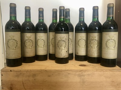 Lot 30 - 9 bottles Chateau Gruaud Larose Grand Cru Classe St Julien 1985 (3 b/n,  5 vts, 1 t/s)