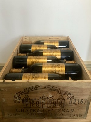 Lot 27 - 12 bottles (In OWC) Chateau d'Issan Grand Cru Classse Margaux 1989