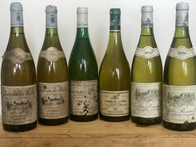 Lot 49 - 6 Bottles Mixed Lot Mature White Burgundy including Chablis