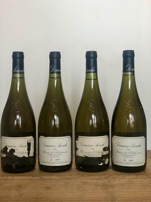 Lot 91 - 4 Bottles Chablis Grand Cru 'Les Blanchots' Reserve de l'Obediencerie Domaine Laroche 1994