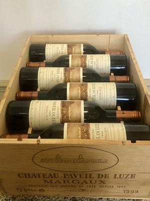 Lot 31 - 12 Bottles Chateau Paveil de Luze Cru Bourgeois Margaux 1999