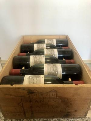 Lot 33 - 12 Bottles Chateau Lafite Rothschild Premier Grand Cru Classe Pauillac 1965