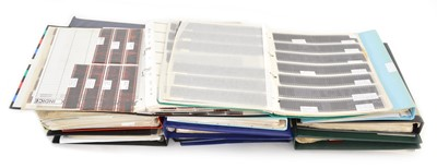 Lot 80 - 15 ring binders of colour and black & white photo negatives between 1960-2000