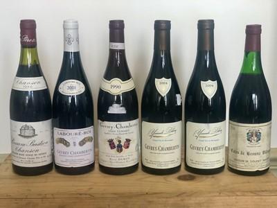 Lot 73 - 6 Bottles Mixed Lot Mature Red Burgundy