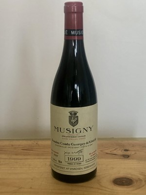 Lot 47 - 1 Bottle Grand Cru Musigny 'Cuvee Vieilles Vignes' Domaine Comte George de Vogue 1999