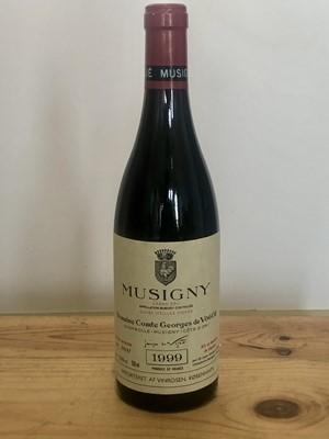 Lot 75 - 1 Bottle Grand Cru Musigny 'Cuvee Vieilles Vignes' Domaine Comte George de Vogue 1999