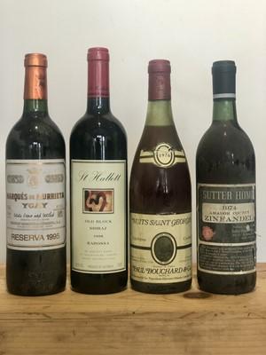 Lot 64 - 4 Bottles Mixed Lot Good 'International Wines'