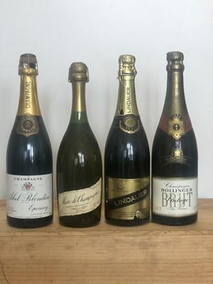 Lot 73 - 4 Bottles Mixed Lot Marc de Champagne
