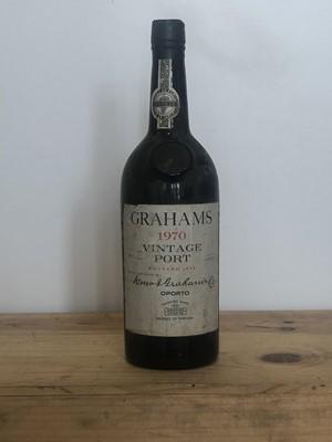 Lot 78 - 1 bottle Graham's Vintage Port 1970