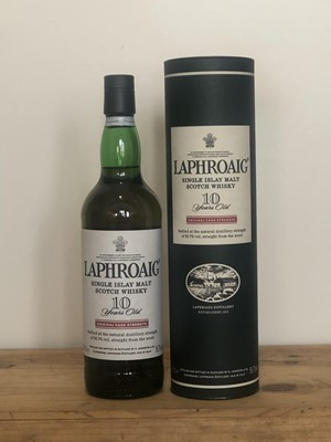 Lot 96 - 1 Bottle Laphroaig Single Islay malt Whisky