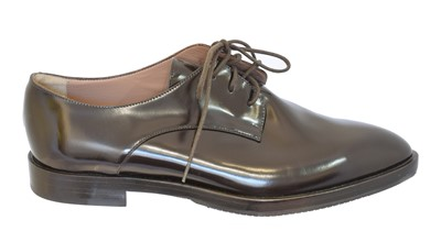 Lot 9 - A pair of brogue shoes by Giorgio Armani