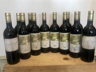 Lot 5 - 12 Bottles Domaine du Grand Mayne Cotes de Duras of three consecutive vintages