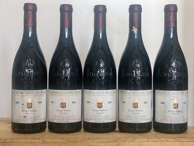 Lot 53 - 5 Bottles Chateauneuf du Pape Reserve Domaine Roger Sabon 2001