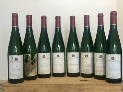 Lot 61 - 8 Bottles Zeltinger Sonnenuhr Riesling Spatlese, Estate Weingut Selbach-Oster 2007