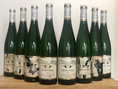 Lot 62 - 8 Bottles Graacher Himmelreich Riesling Spatlese