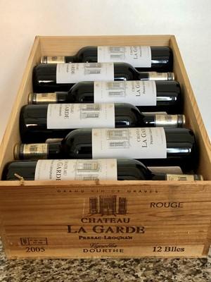 Lot 12 - 12 Bottles (in OWC) Chateau La Garde Rouge Pessac-Leognan Grand Vin de Graves 2005