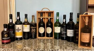 Lot 79 - 12 Bottles Mixed Lot Port