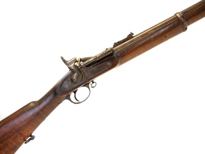 Lot 286 - BSA two band .577 Snider rifle