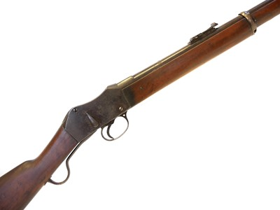 Lot 262 - Martini Henry ,450 rifle converted to muzzleloading percussion