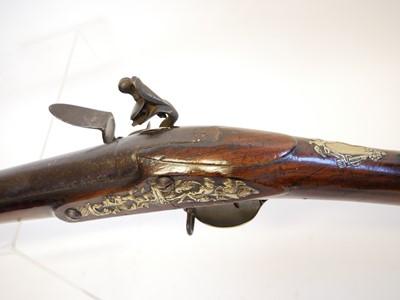 Lot 280 - Flintlock .750 volunteer officer's fusil or musket