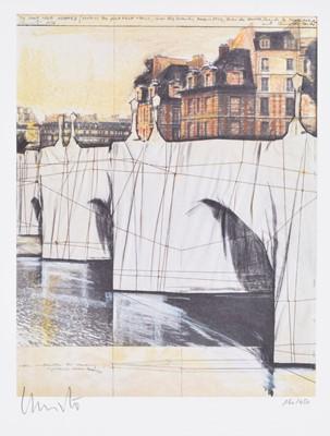 Lot 44 - Christo & Jeanne-Claude (American 1935-2020; 1935-2009)