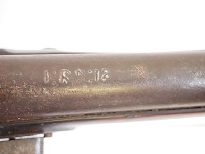 Lot 304 - Irish .750 India pattern flintlock Brown Bess musket