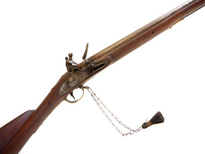 Lot 291 - India pattern 1809 .750 Brown Bess musket with Irish marks