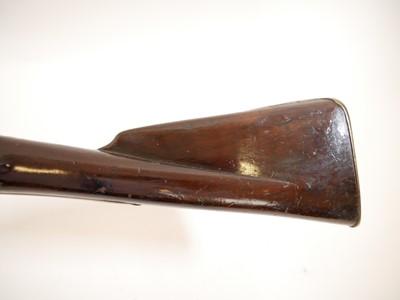 Lot 295 - Short land pattern .750 Brown Bess musket with Irish marks
