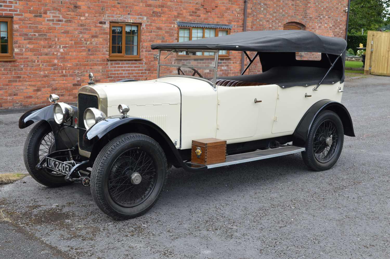 Lot 1926 Sunbeam 14/40 Tourer