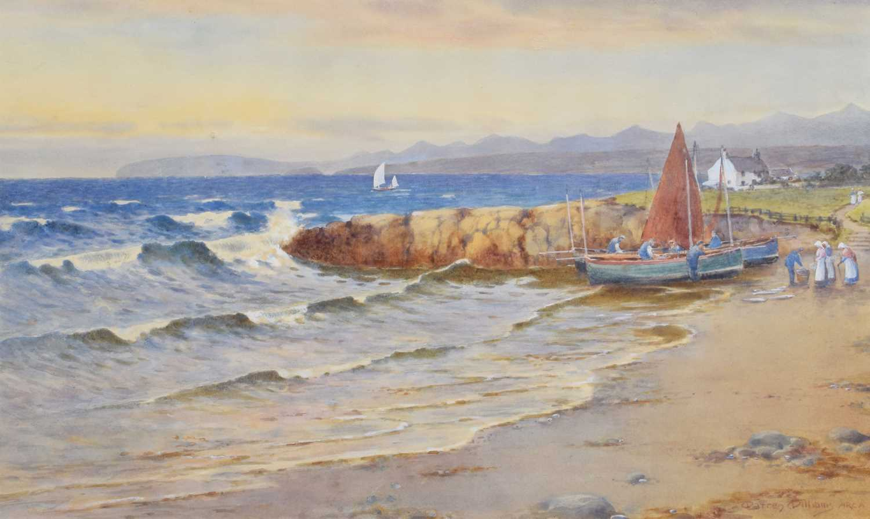 Lot 3 - Warren Williams A.R.C.A. (British 1863-1941)