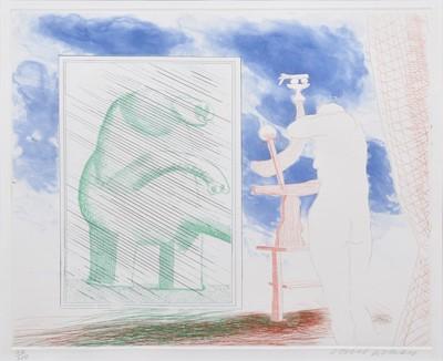 Lot 39 - David Hockney R.A. (British 1937-)