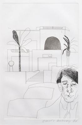 Lot 41 - David Hockney R.A. (British 1937-)