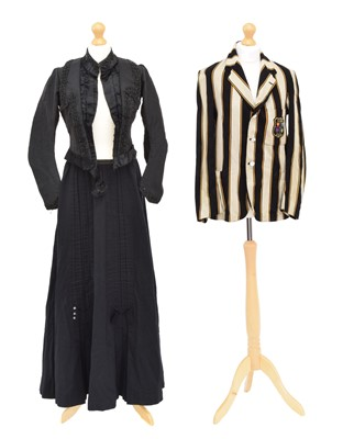 Lot 136 - A selection of Victorian and later clothing