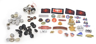 Lot 79 - A collection of buttons, badges, patches and more