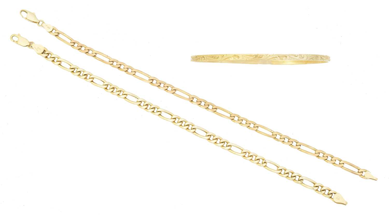 Lot 14 - Three bracelets