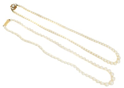 Lot 35 - Two necklaces