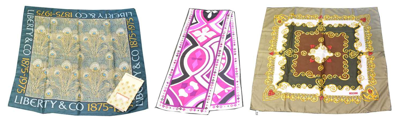 Lot 24 - A selection of designer scarves