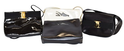 Lot 90 - Four Salvatore Ferragamo shoulder bags