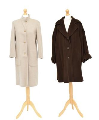 Lot Two wool coats by MaxMara
