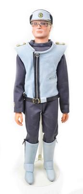 Lot 97 - Captain Blue Puppet from Captain Scarlet TV Show