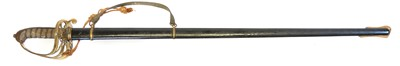 Lot 17 - Victorian 1822 pattern sword and scabbard