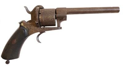 Lot 239 - 11mm pinfire revolver