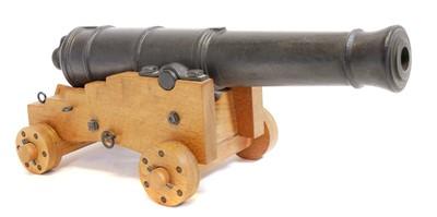 Lot 112 - Model 32 pounder cannon