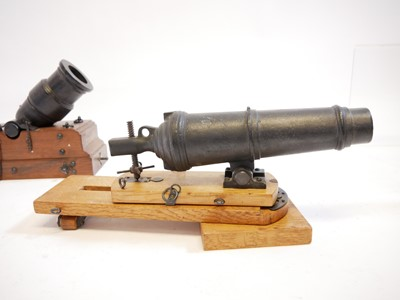 Lot 113 - Two one eighth scale model cannons