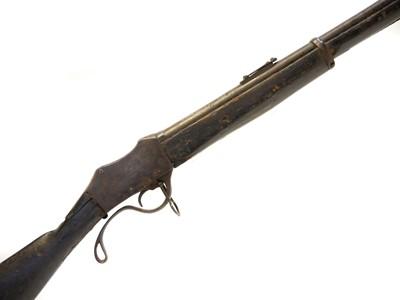 Lot 257 - Nepalese Gahendra rifle Martini Henry rifle copy