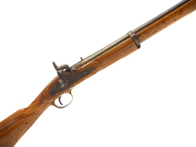 Lot 271 - Inert replica or a Enfield percussion carbine.