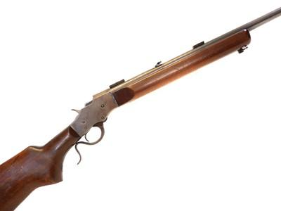 Lot 268 - Stevens .25 rimfire falling block rifle