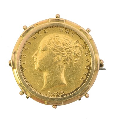 Lot 3 - A Victorian sovereign
