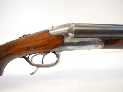 Lot F. Jager and Co. Suhl Drilling rifle and shotgun combination. LICENCE REQUIRED